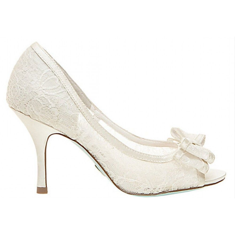 Betsey johnson sneakers home bridal shoes ivory