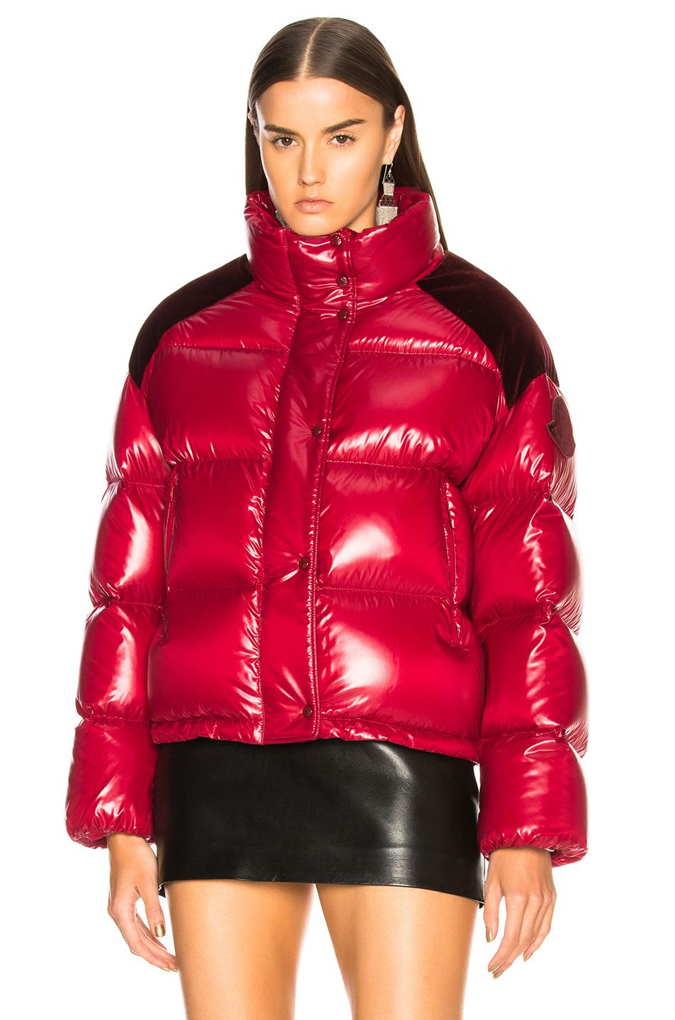 Rains Puffer Jacket Red | GetInspired.no