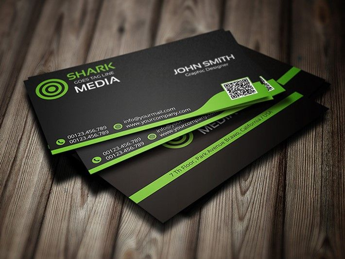 20 Fresh Business Card Ideas for Inspiration | Green business ...