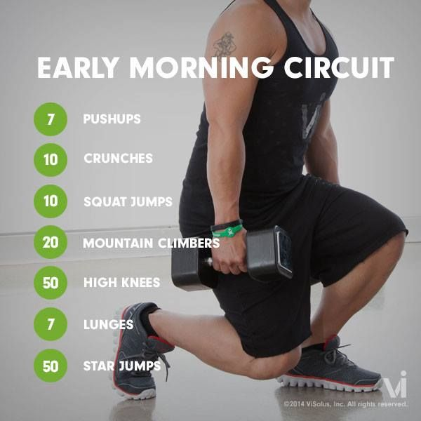 Best Morning Workout Routine For Weight Loss