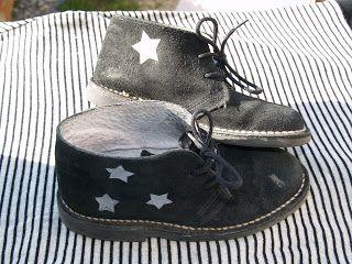 f7c02a68097 p titgarsauchocolat  Customisation de chaussures style Clarks ...
