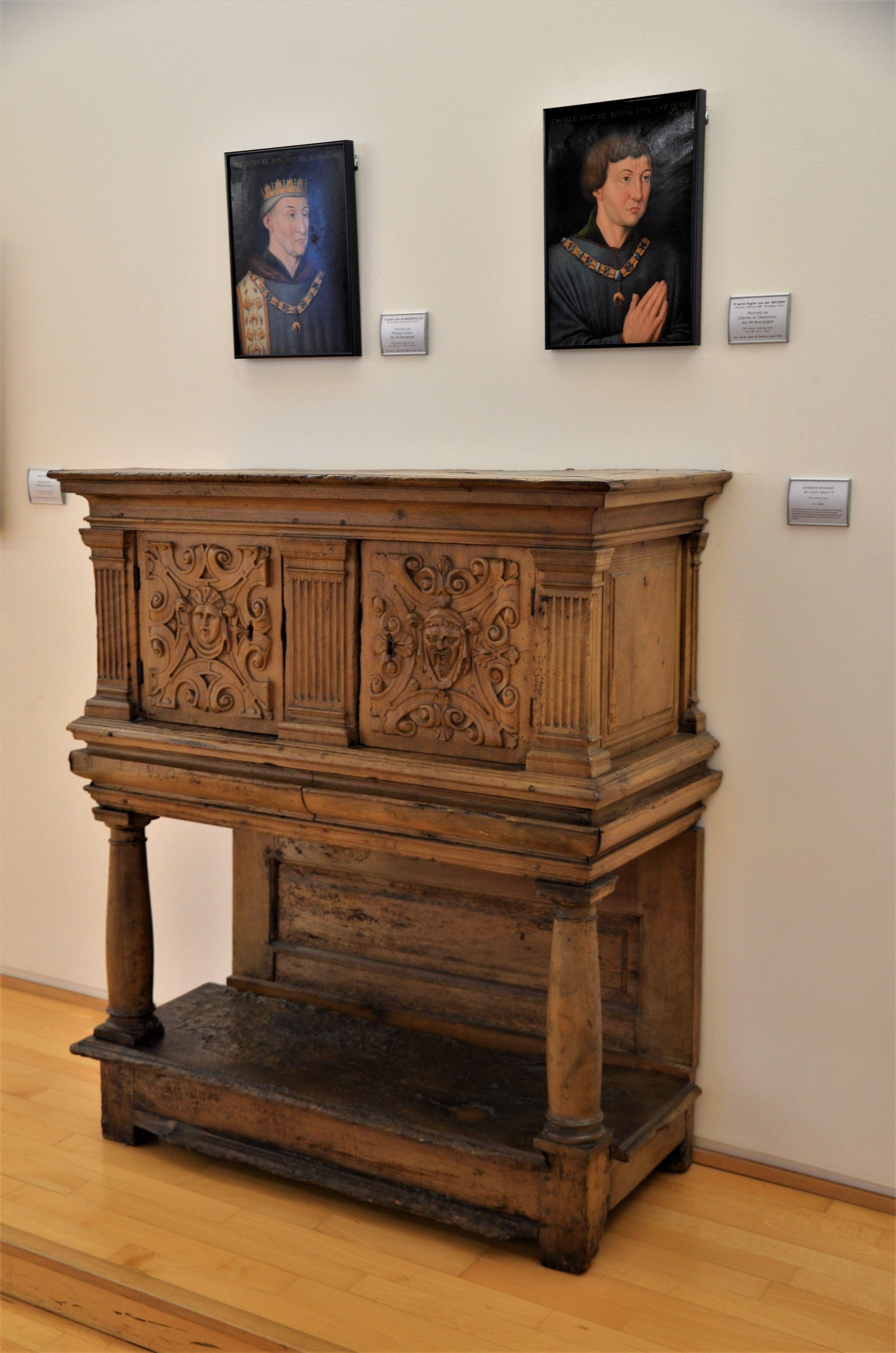 Armoire Dressoir De Style Henri Ii Musee D Art Roger Quilliot A Clermont Ferrand Photo Herve Leyrit Musee D Art Clermont Ferrand Clermont