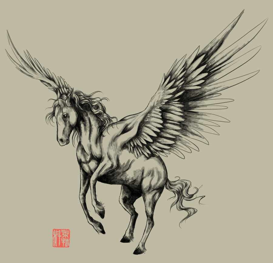 pegasus unicorns and ponies pinterest pegasus tattoo and tatoo. Black Bedroom Furniture Sets. Home Design Ideas