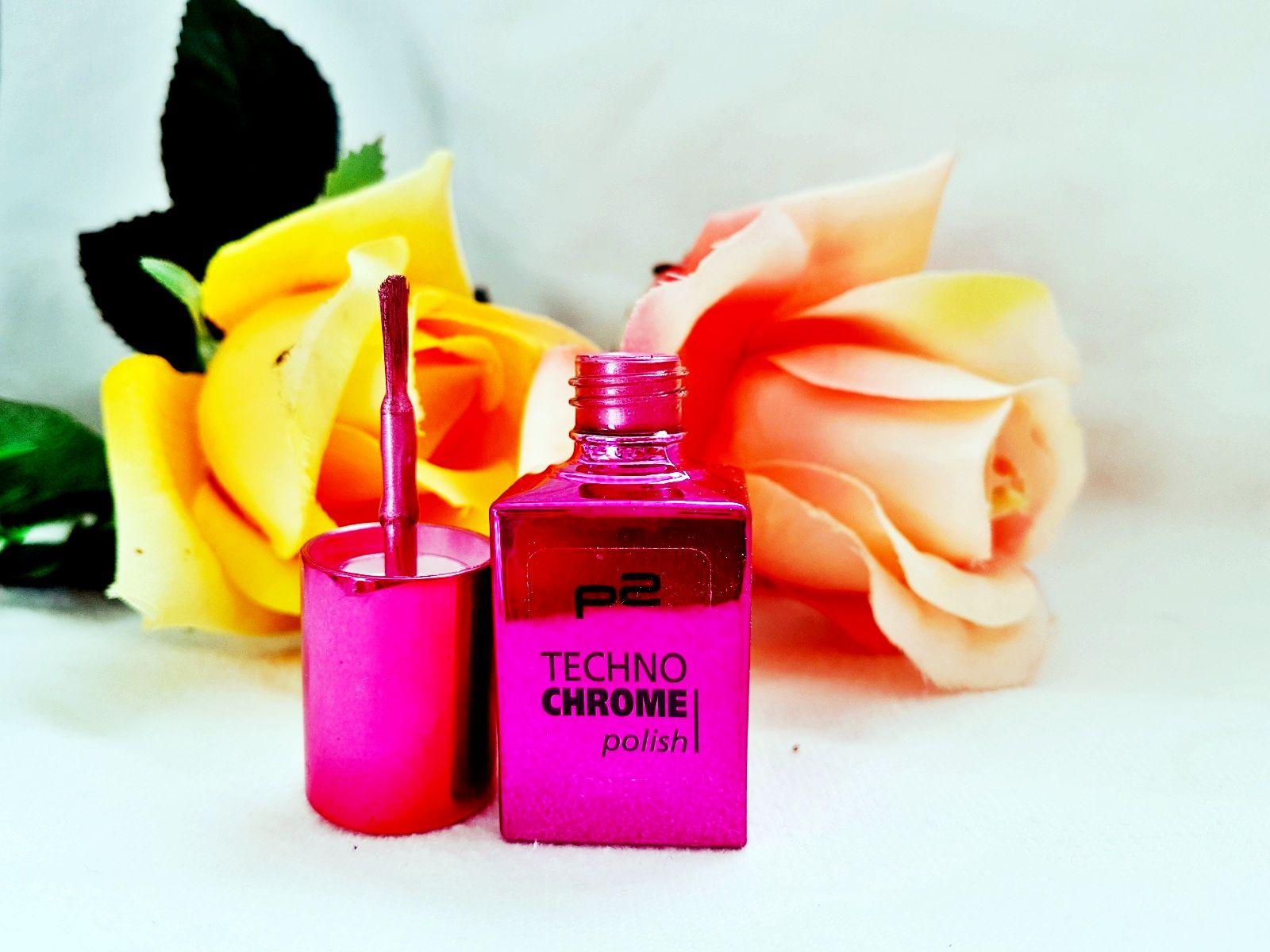 Techno Chrome Polish pink spark Review