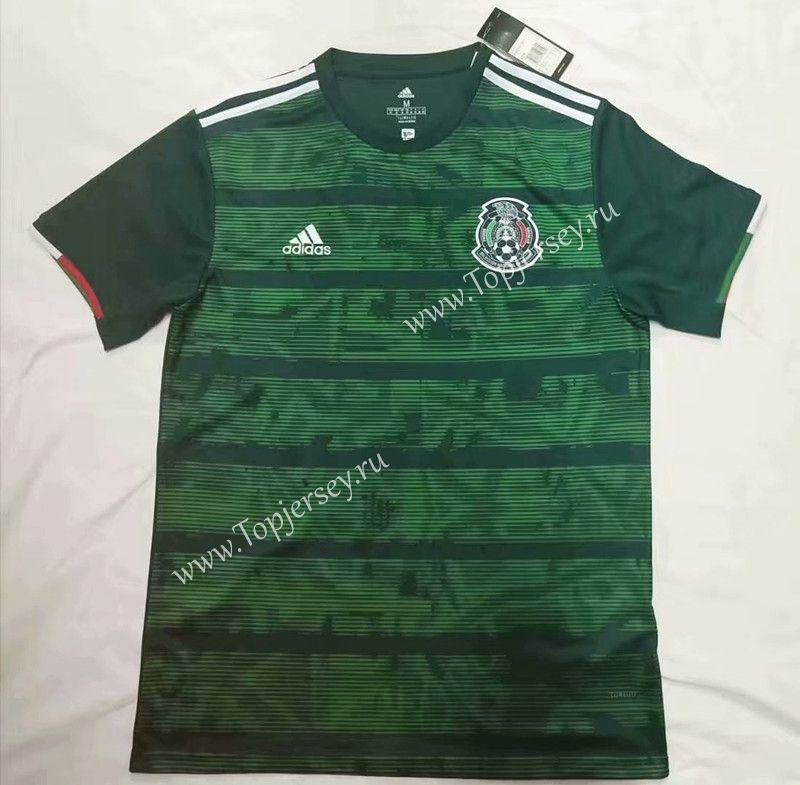 2019 2020 Mexico Away Green Thailand Soccer Jersey Aaa 912 Soccer Jersey Soccer Football Sweater