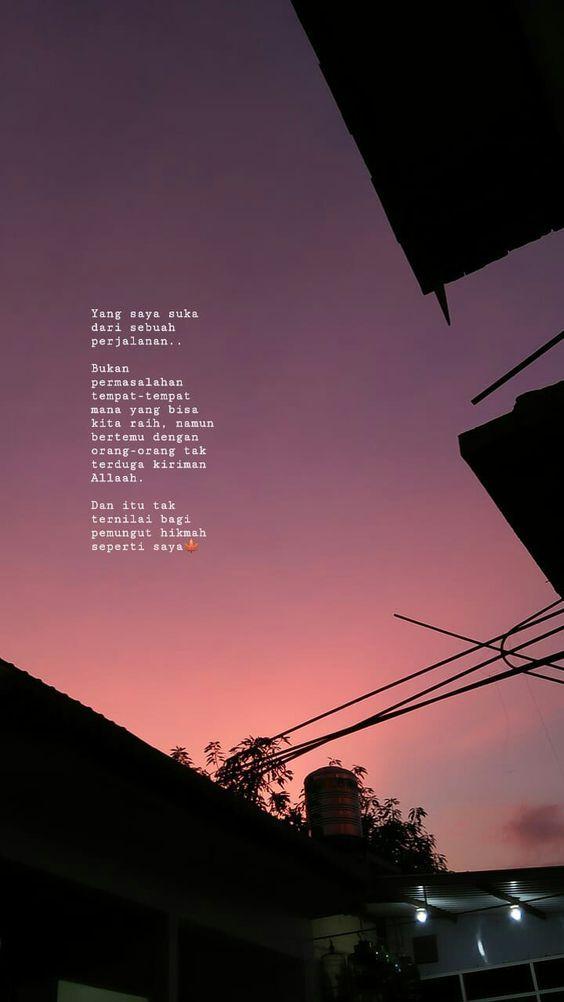 Pin Oleh Siti Sarah Di Fotografi Pemandangan Bijak Kutipan