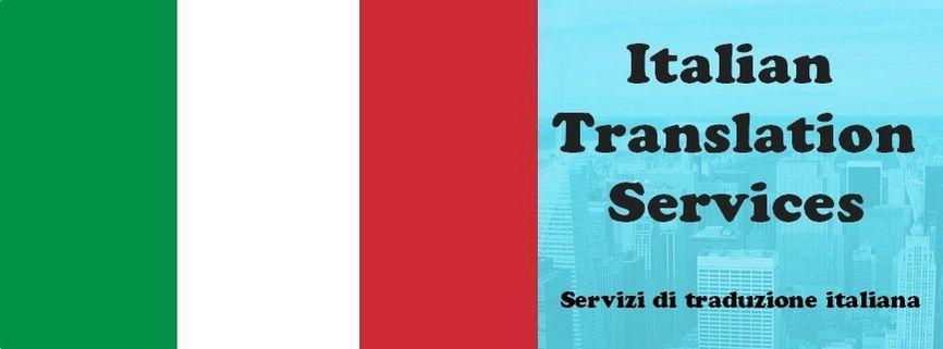 Italian translation services italian language