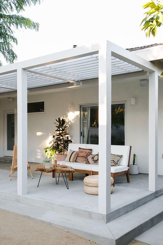 Pérgolas de madera para el patio Pérgolas, Madera y Terrazas - terrazas en madera