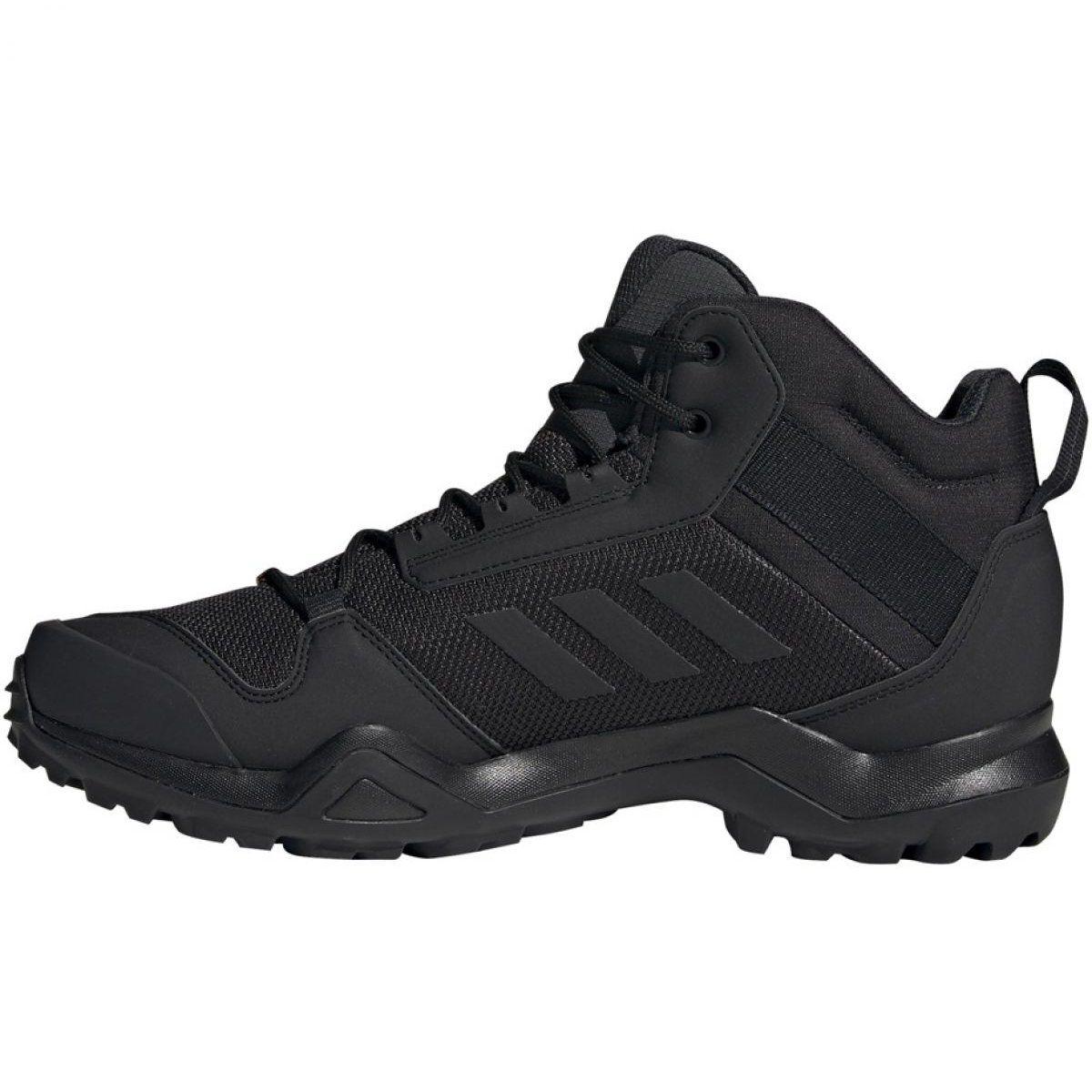 Trekking shoes adidas Terrex AX3 Mid Gtx Vz M BC0466 black ...