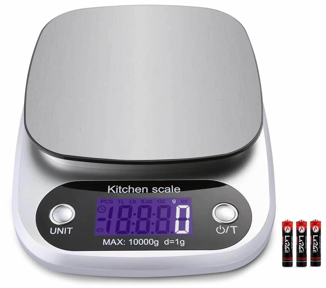 Top 10 Best Kitchen Scales In 2020 Reviews Electronic Kitchen Scales Digital Food Scale Kitchen Scale