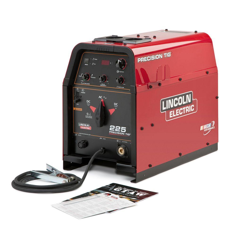 hight resolution of lincoln electric 230 amp precision tig 225 tig welder single phase 460v 575v machine only