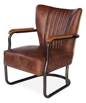 this mocha brown laguana armchair by sarreid ltd is perfect rh pinterest com