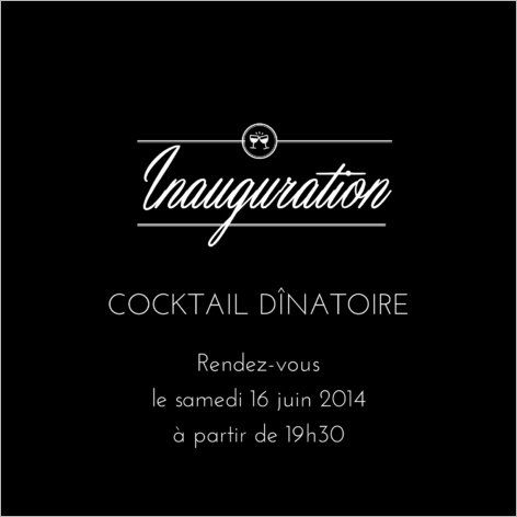 invitation inauguration invitation