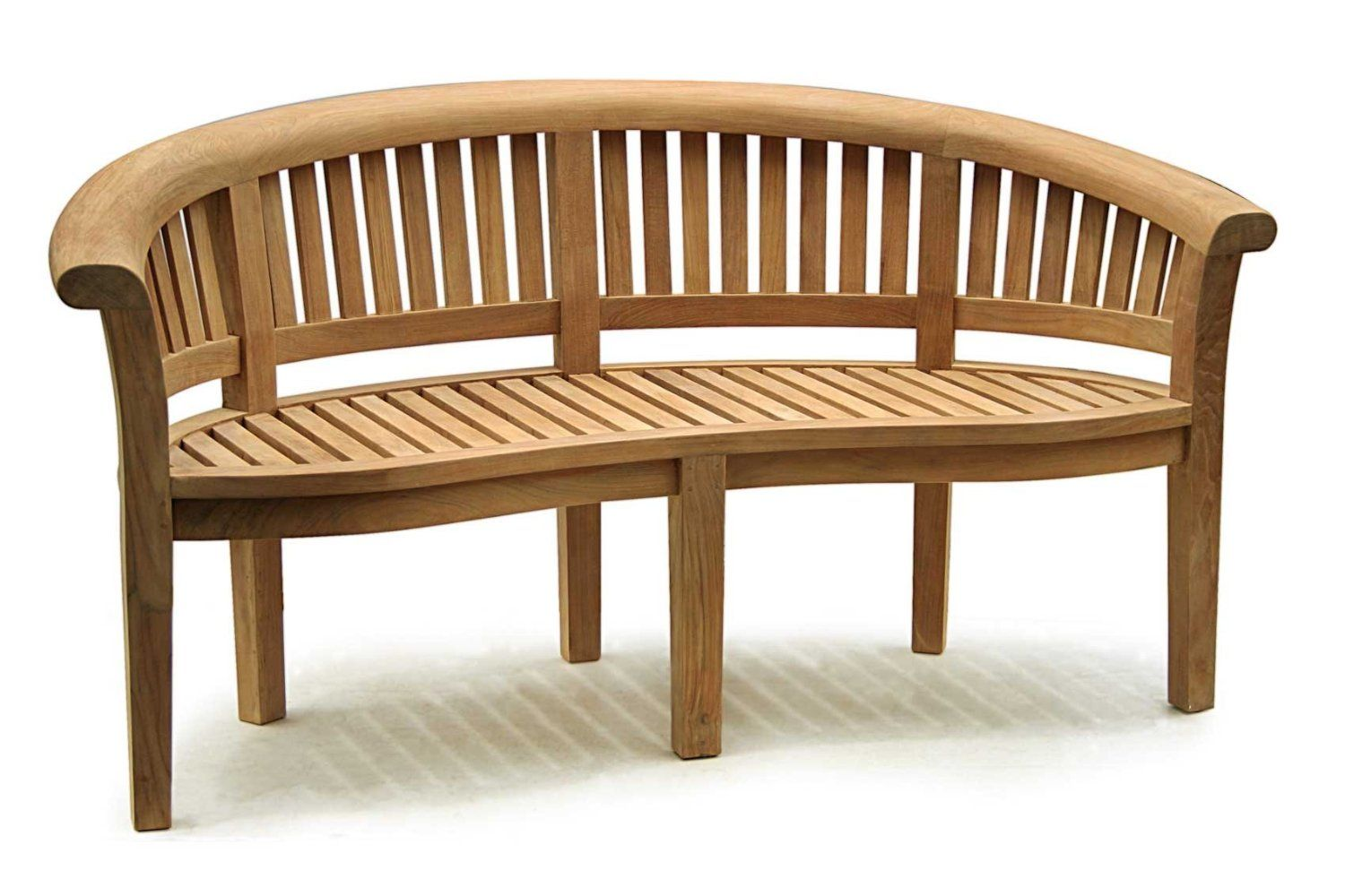 Curved Wooden Garden Bench Google Search Outdoor