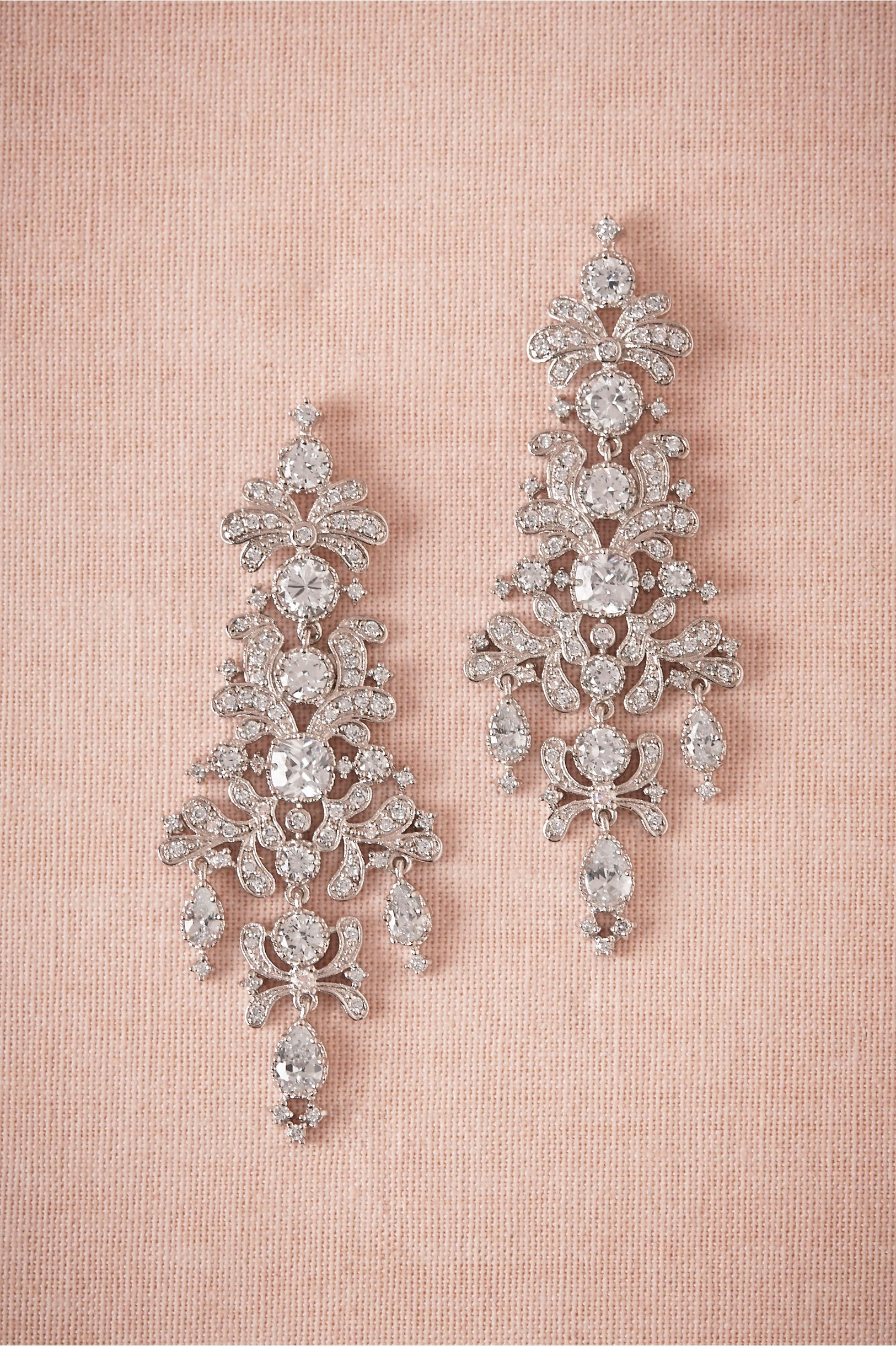 Gwyneth Earring in Shoes & Accessories Jewelry at BHLDN From CZ by ...