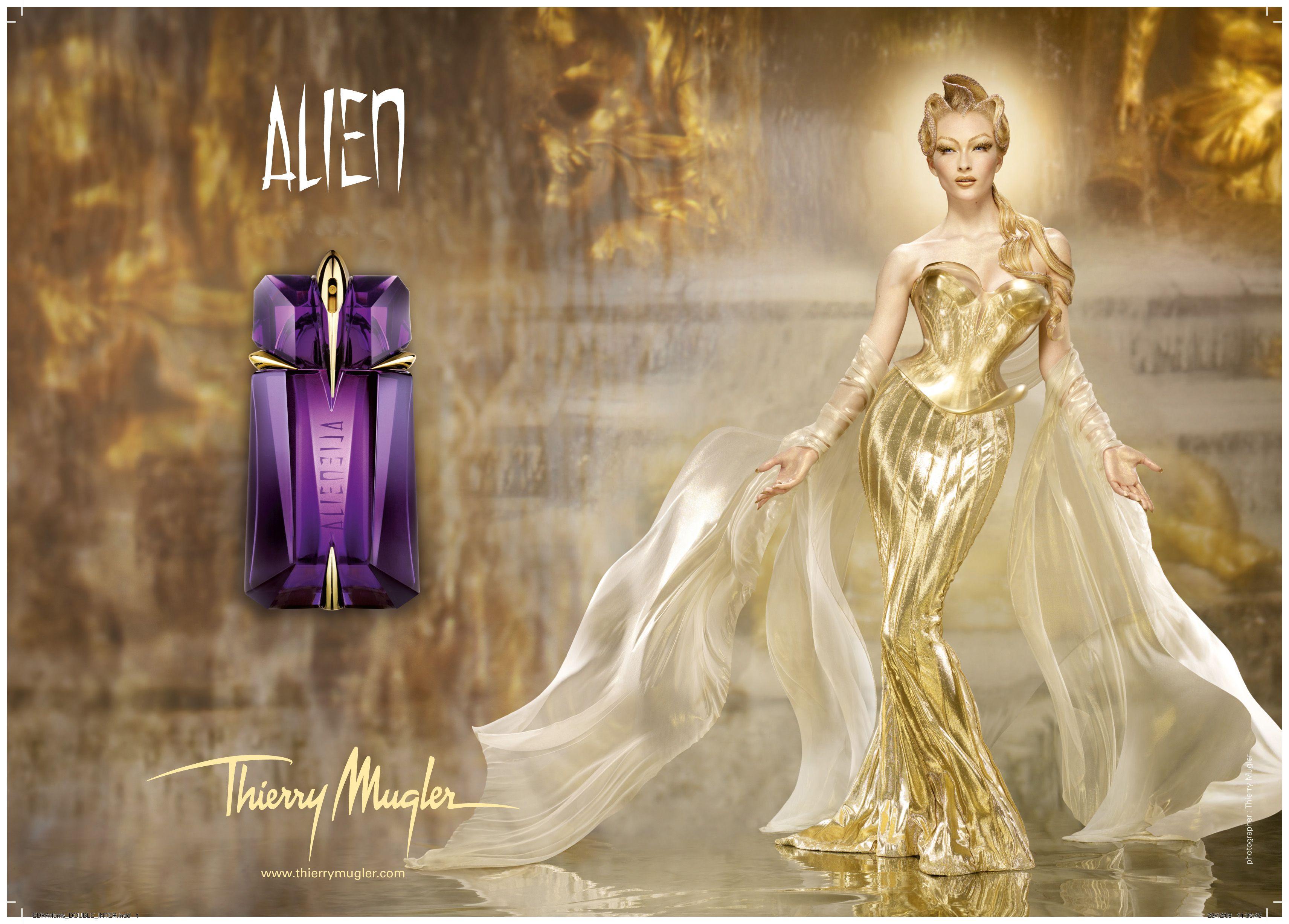 Alien Campaign Parfum Alien Alien Eau De Parfum Publicite Parfum