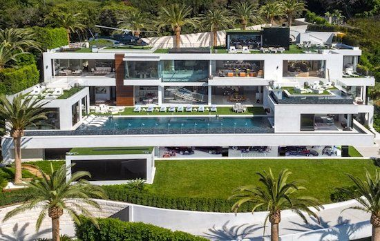 La Casa Mas Cara Del Mundo A La Venta Houses In America Bel Air Mansion Expensive Houses