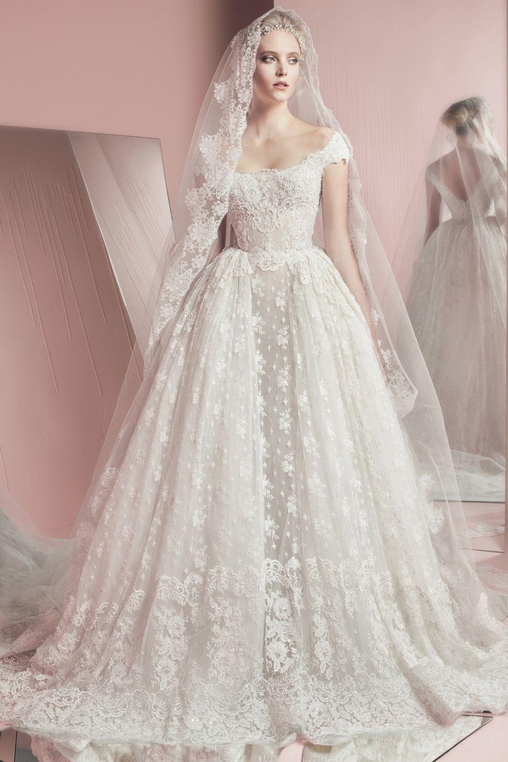 Zuhair Murad - he perfect wedding dress for a garden-themed wedding ...