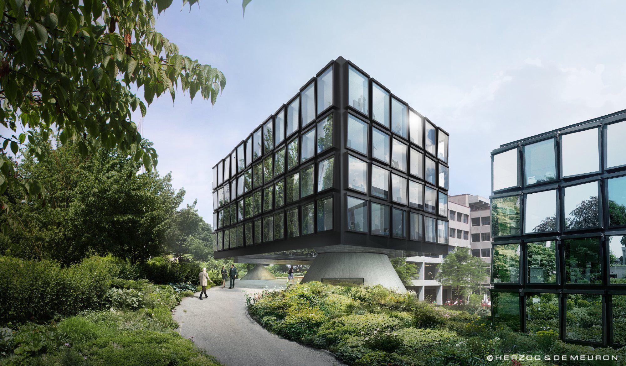 HdM erweitern Helvetia-Hauptsitz in St. Gallen / Letzte Etappe - Architektur und Architekten - News / Meldungen / Nachrichten - BauNetz.de