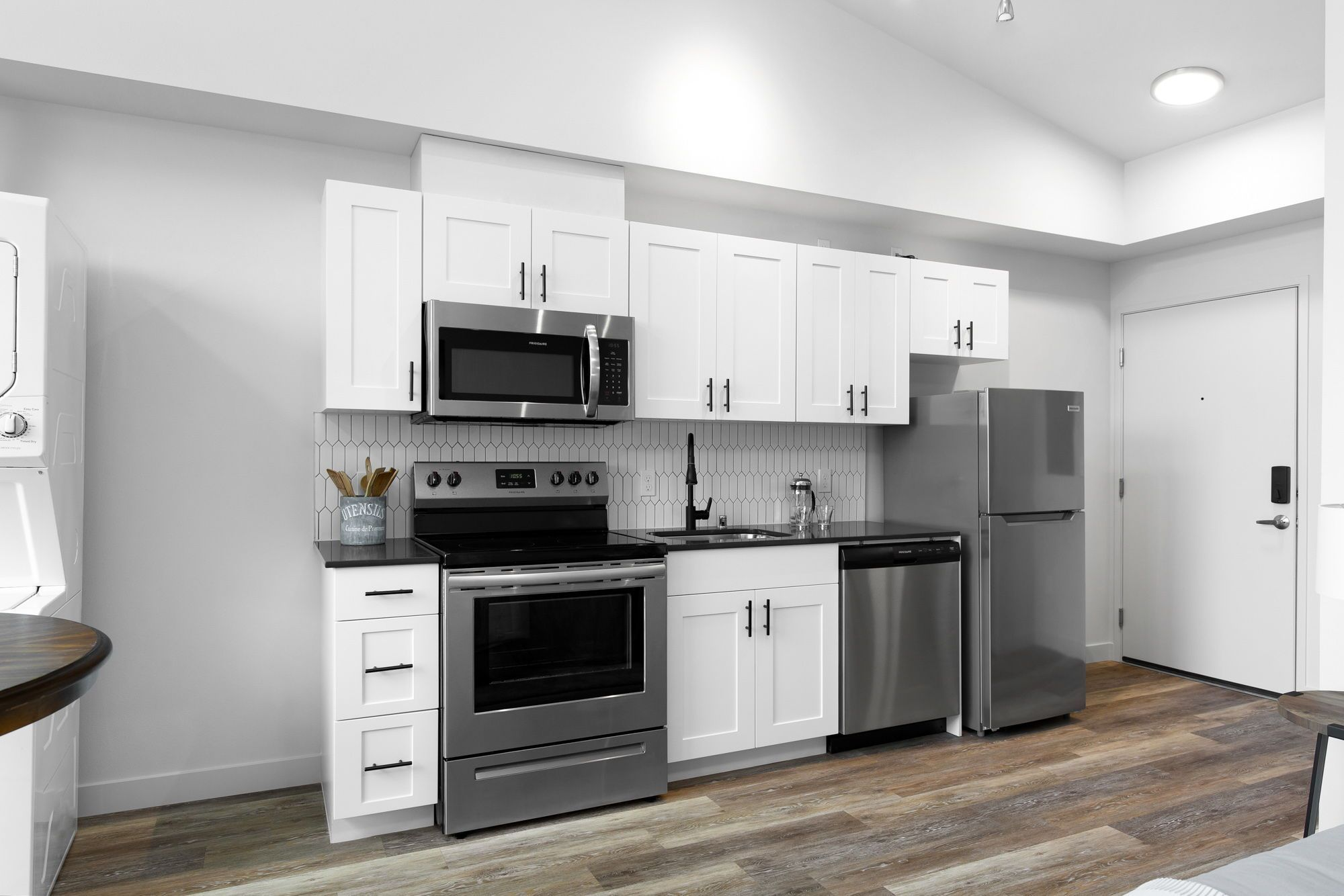Studio Apartments Available In Greenwood Bode Greenview By Common In 2020 Spacious Kitchens Studio Apartment One Bedroom Apartment