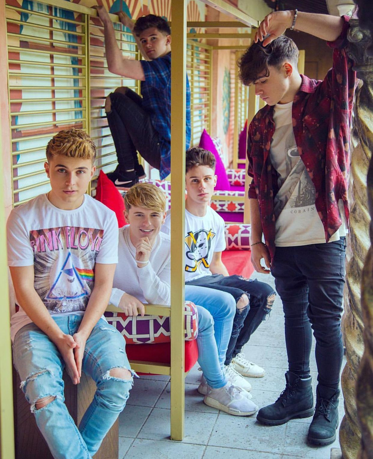Rye Is In Your Average Boyband Pose Mikey Is In The Kid Pose Jack