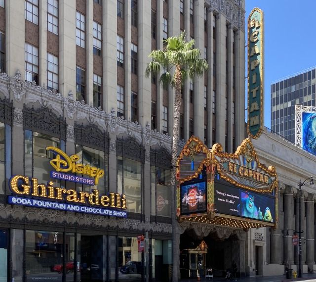 Built in 1926, and now owned by The Walt Disney Company, The El Capitan Theatre at the corner of Hollywood and Highland. Jimmy Kimmel tapes his live show right next door in an equally well known...