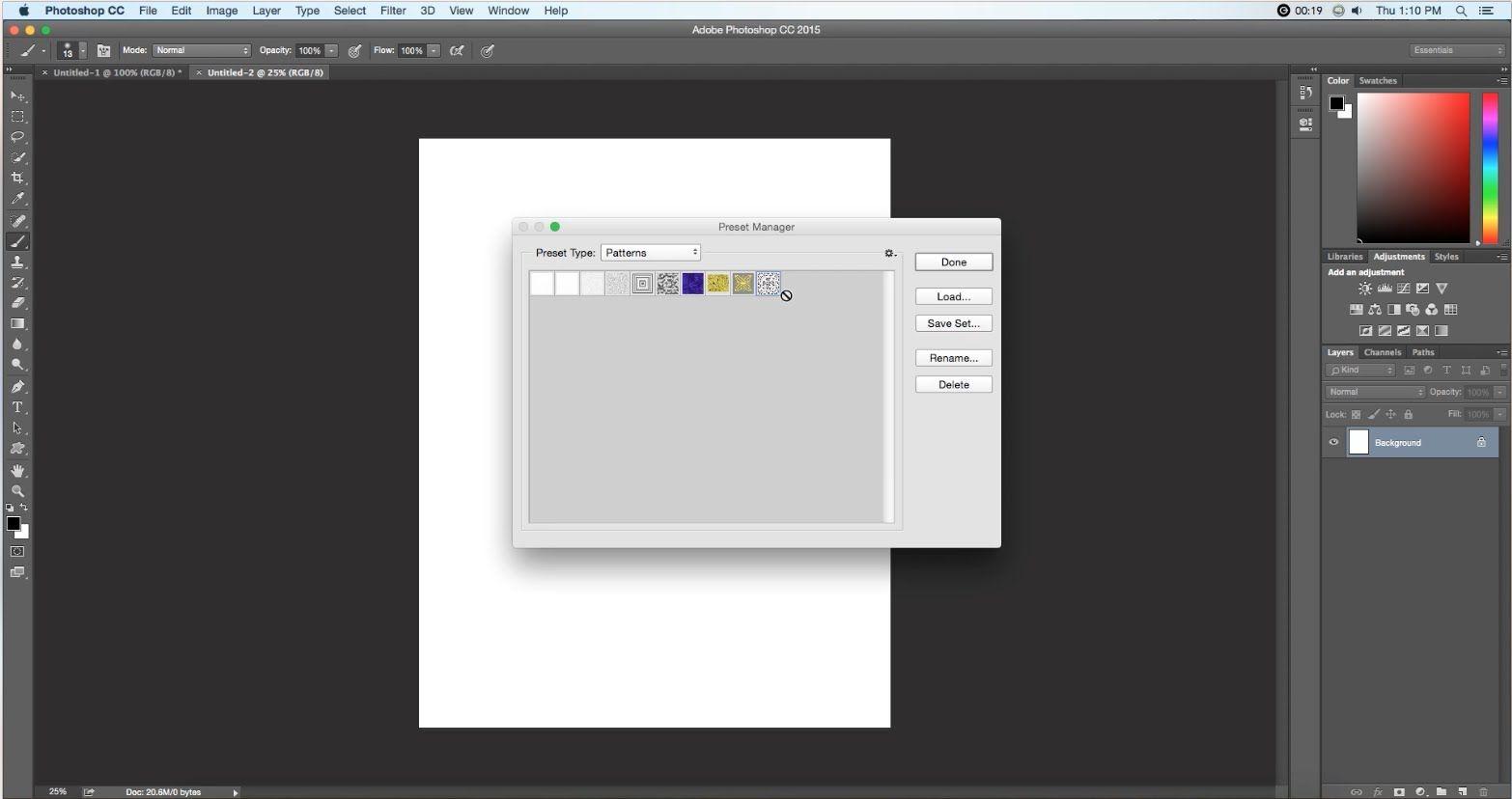 How to delete Photoshop