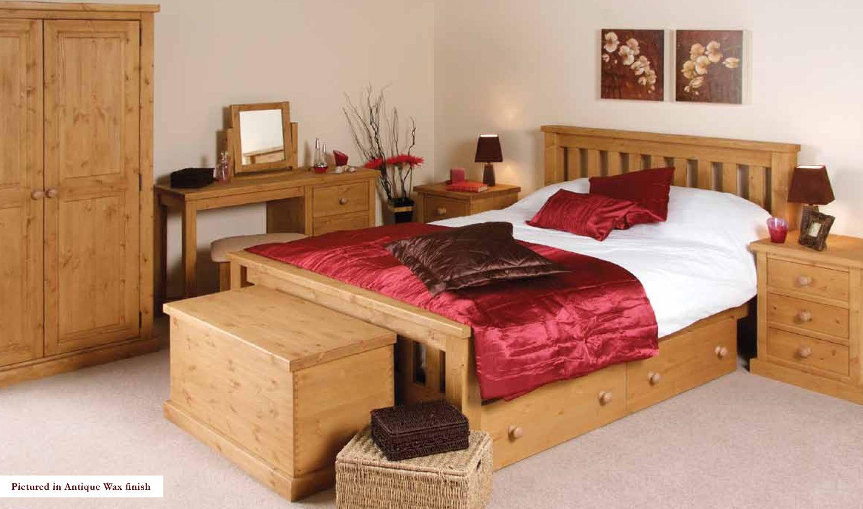 Pine Bedroom Furniture Have Bed Frame