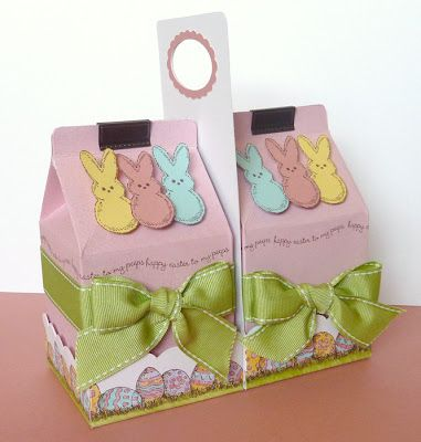 Easter Milk Cartons project