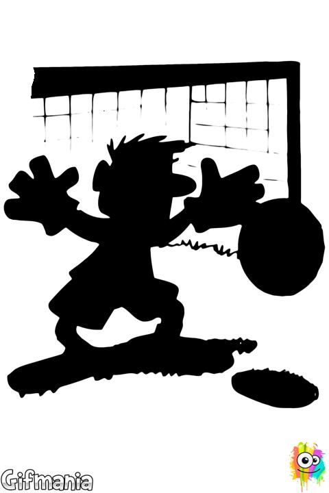Portero De Fútbol Portero Futbol Dibujo Dibujos Futbol Para