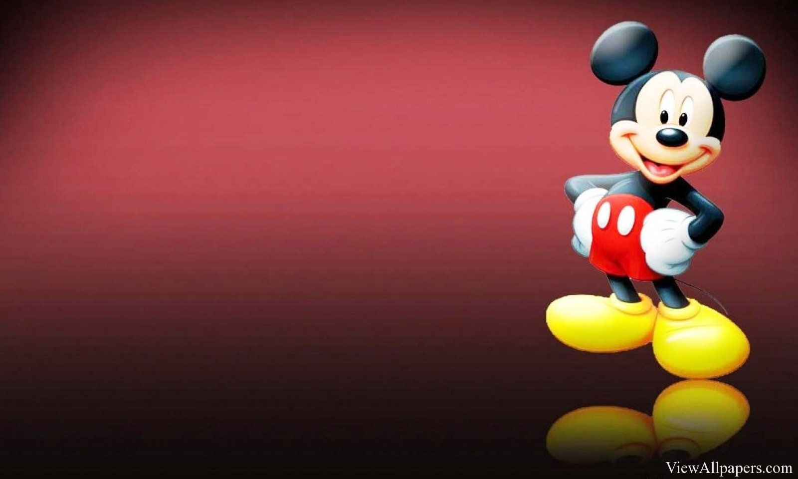 Mickey Mouse 3d Wallpaper Viewallpapers Pinterest