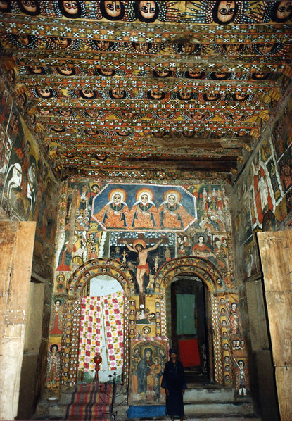 Debre Berhan Selassie Church Gondar Ethiopia Ethiopia Ethiopia Travel Old Churches