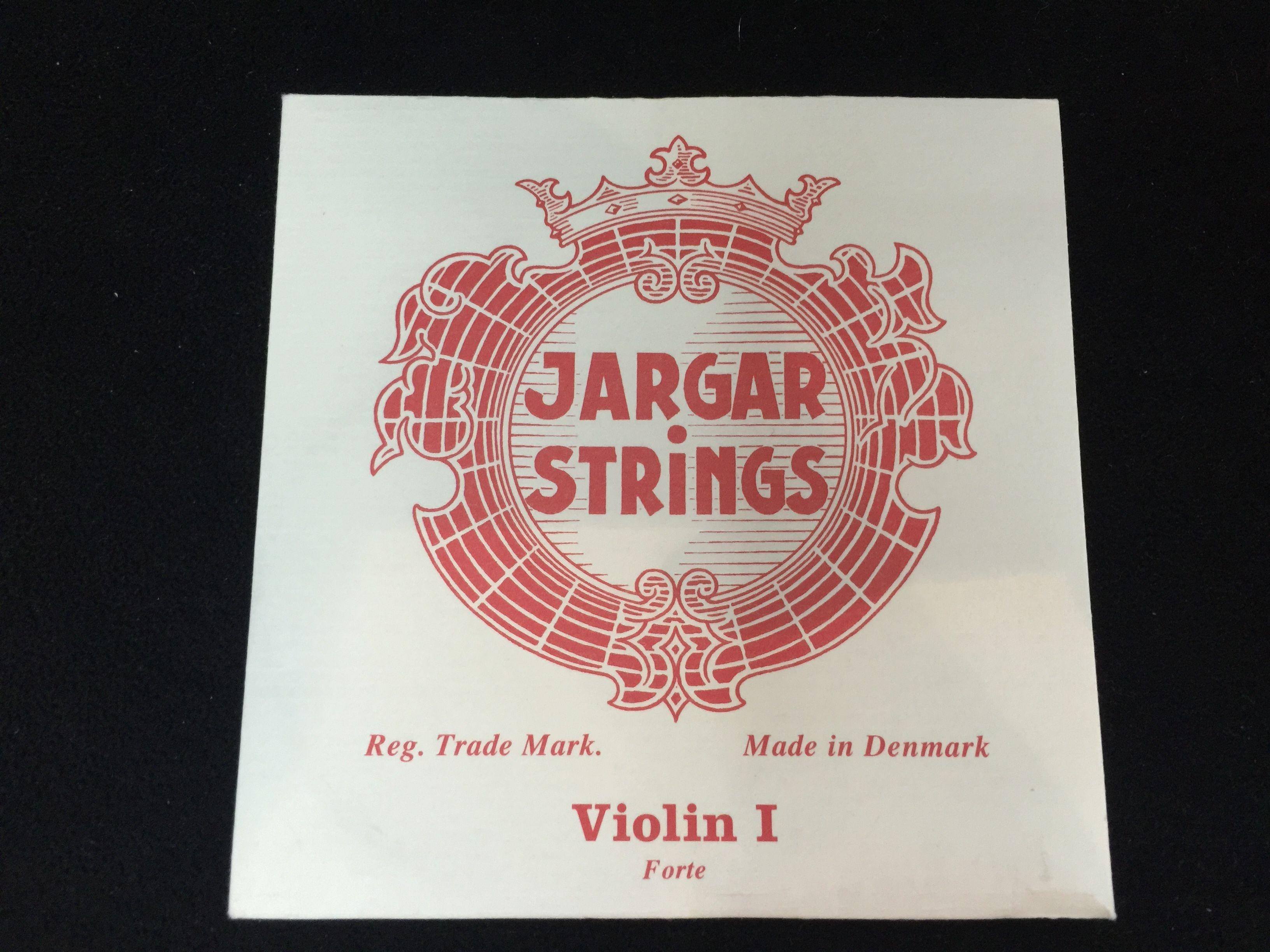 Jargar Violin E String Loop End 4//4 Size Forte