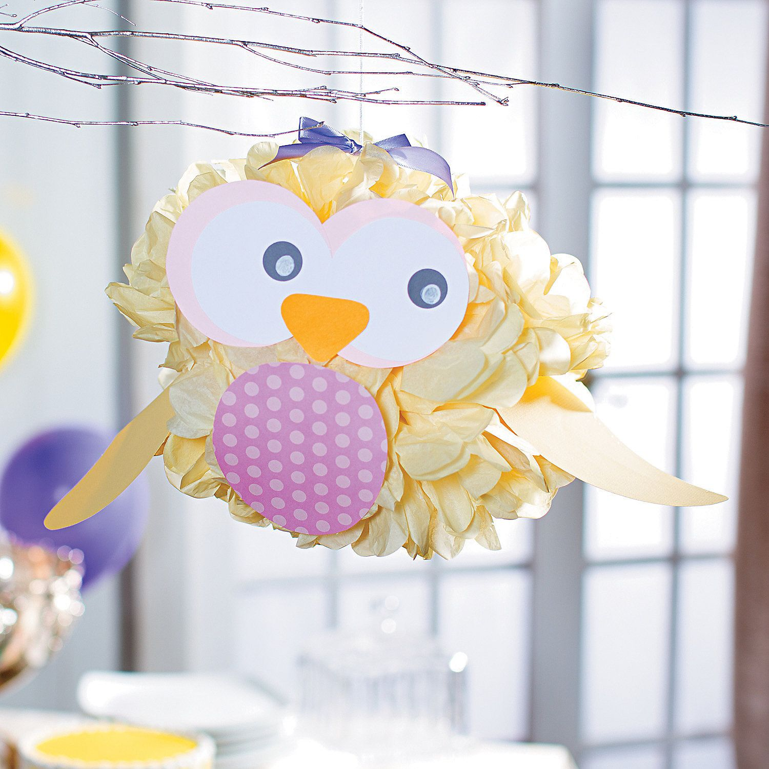 This Diy Baby Shower Decoration Is A Hoot Perfect For Your Owl