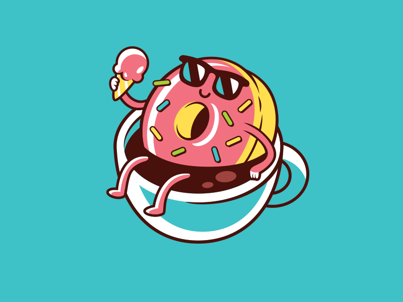 Картинки пончиков для стима