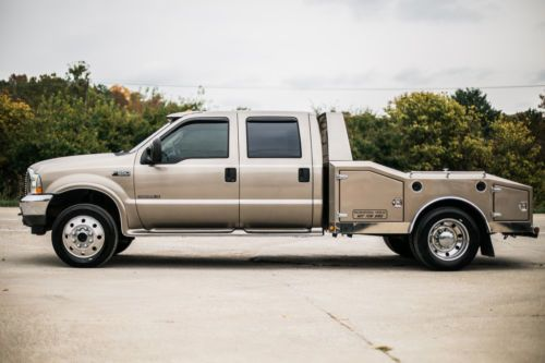 2003 Ford F 550 Eclipse F550 Western Hauler 4x4 Extremely Rare