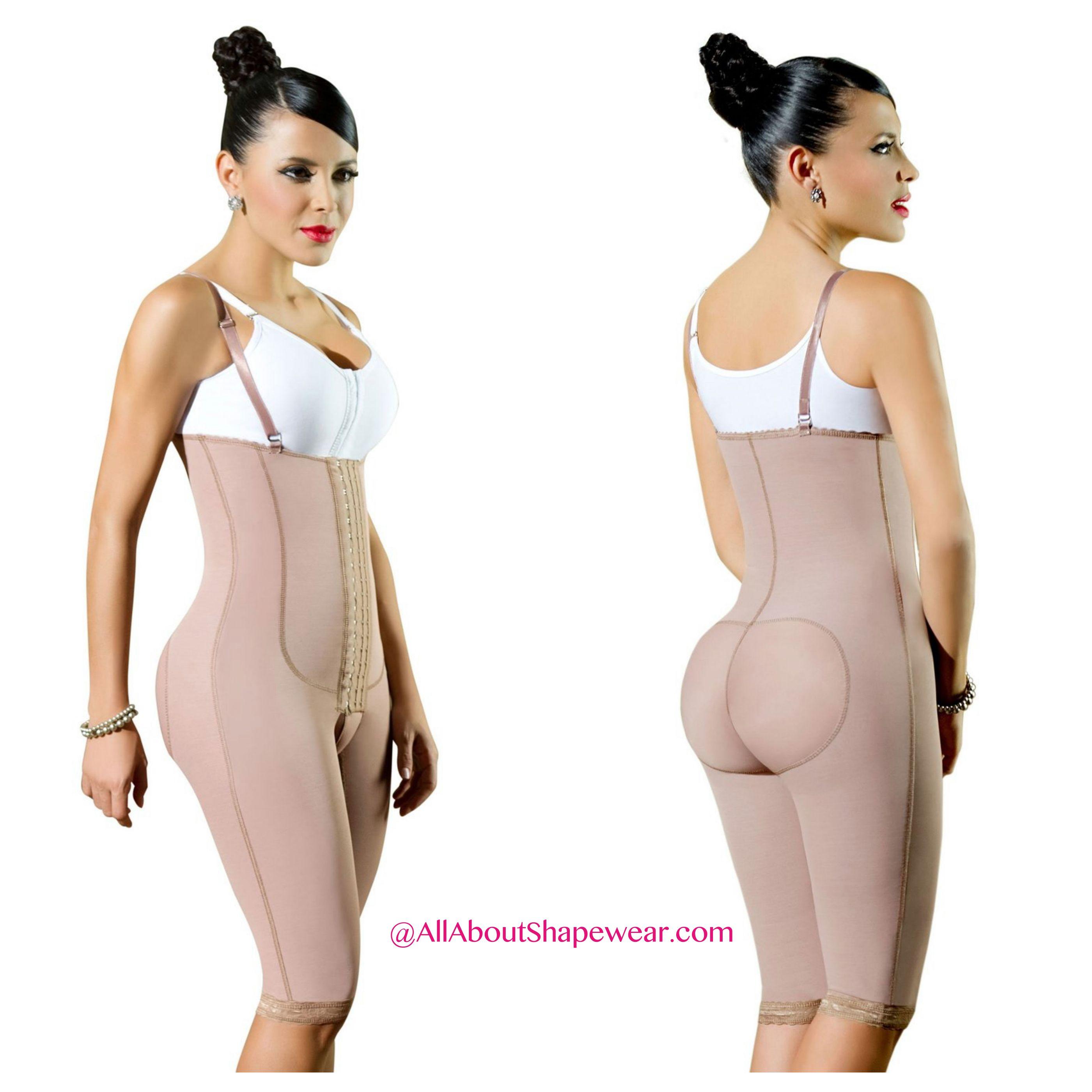 Fajas Diseños de Prada Backless Strapless Bodysuit Shapewear