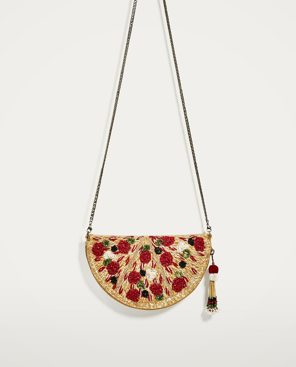 975b00ea4 PIZZA CROSSBODY BAG-View all-BAGS-WOMAN-SALE | ZARA United States ...