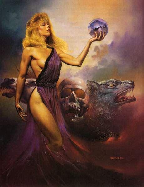Circe (en griego Κίρκη) era una diosa y hechicera que vivió en la isla de  Eea.1 Sus padres fueron Helios, el titán pre… | Boris vallejo, Vallejo,  Scifi fantasy art