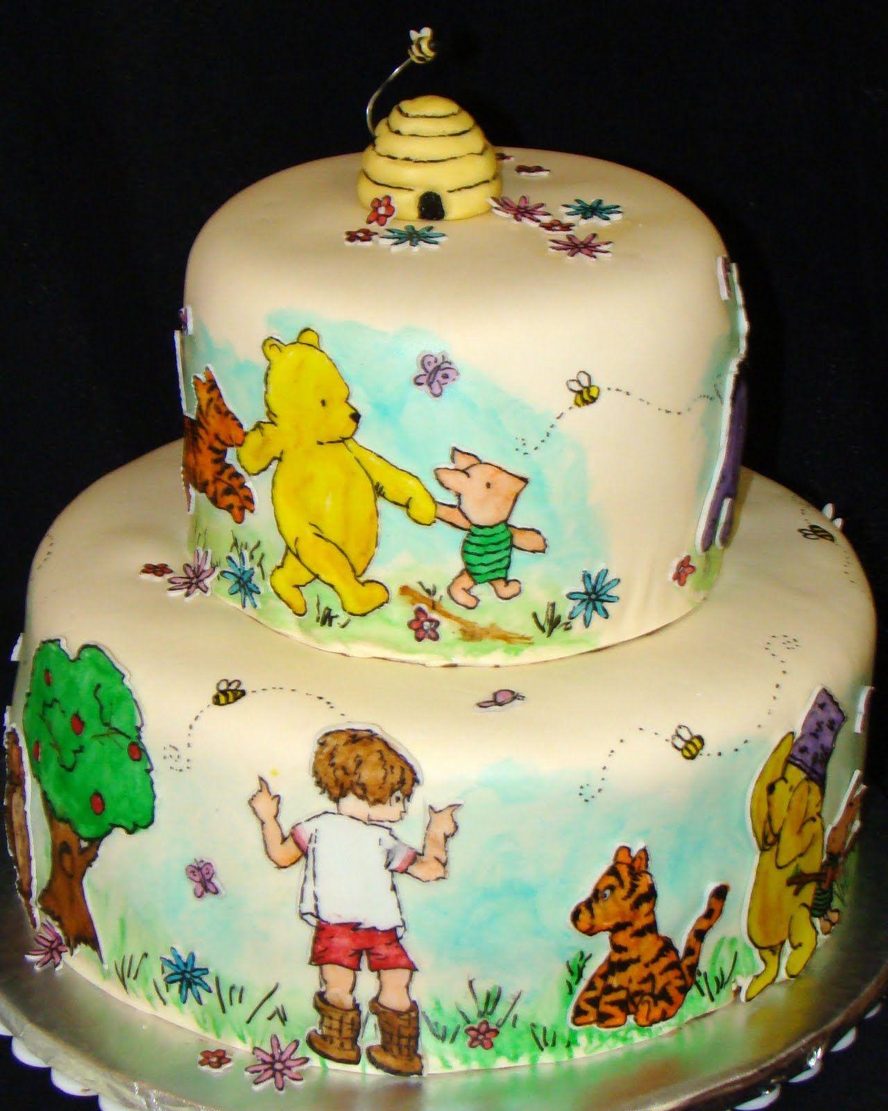 axel james u0026 39  winnie the pooh cake ideas on pinterest