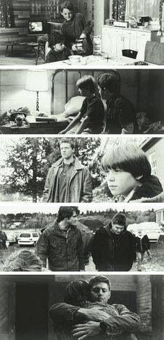 Sam and Dean through the years.