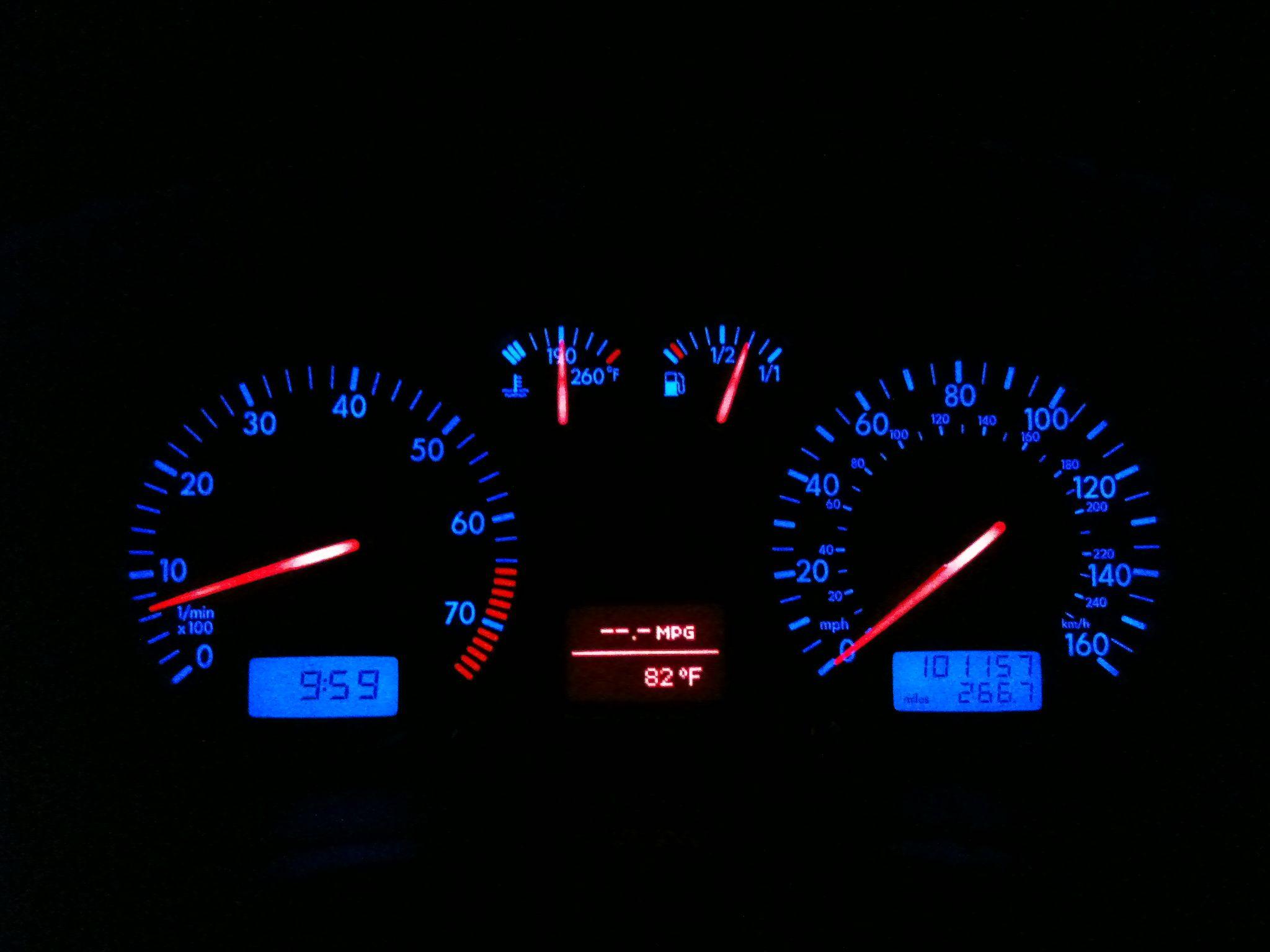 Gauge cluster view  | My Volkswagen GTI VR6 | Gti vr6, Gauges