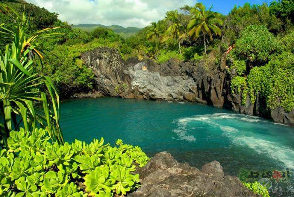 صور مناظر طبيعية خلابة اجمل مناظر الطبيعة مناظر طبيعية جميلة 15 Hawaii Pictures Maui Travel Places To Travel