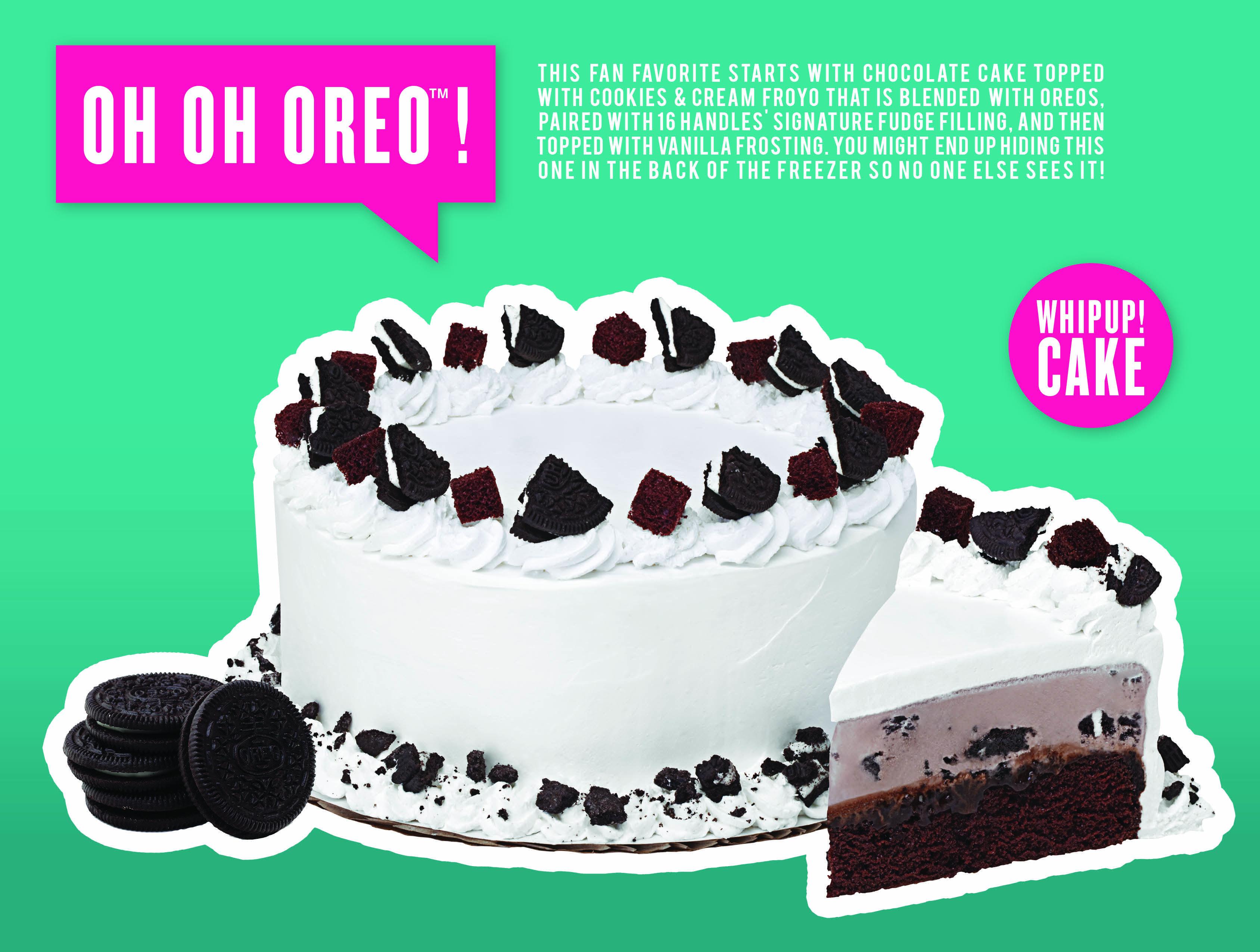 Astounding Oh Oh Oreo Whipup Froyo Cake Cake Toppings Cake Oreo Funny Birthday Cards Online Fluifree Goldxyz