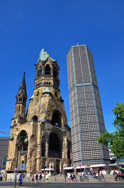 Kaiser Wilhelm Memorial Church In Berlin Germany Where I Ve Been Berlin Germany Berlin Germany Travel