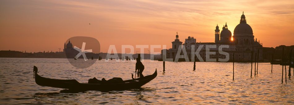 """Santa Maria Della Salute, Venice, Italy"" Picture art prints and posters by Panoramic Images - ARTFLAKES.COM"
