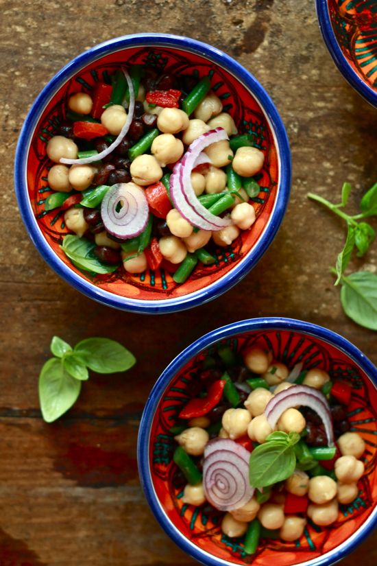 Three Bean Salad Recipe With Honey