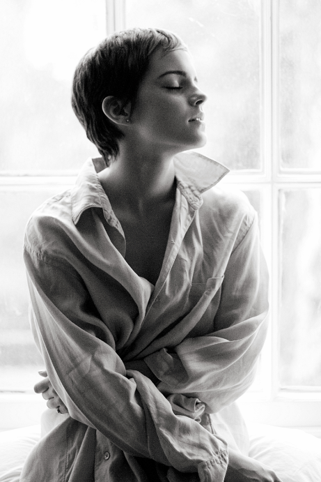 Emma Watson photographed by Harry Crowder