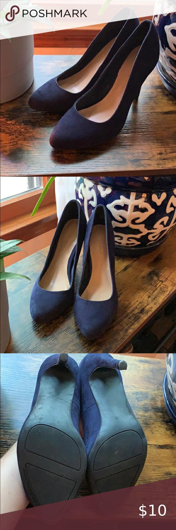 LC Lauren Conrad Shoes | Hp Periwinkle Wedge Heels | Poshmark