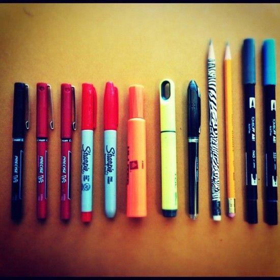 canetas um dos arquitetos